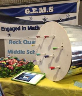 Girls Engaged in Math and Science, a Tuscaloosa-based group, created this musical instrument for students with disabilities.