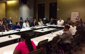 City Council members and APS board officials met Tuesday to discuss the ongoing contract dispute over BeltLine funding.