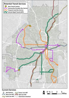 MARTA Unveils Its Dream List For Atlanta Transit Expansion 901 FM