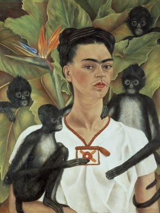 Frida Kahlo - Self Portrait with Monkeys