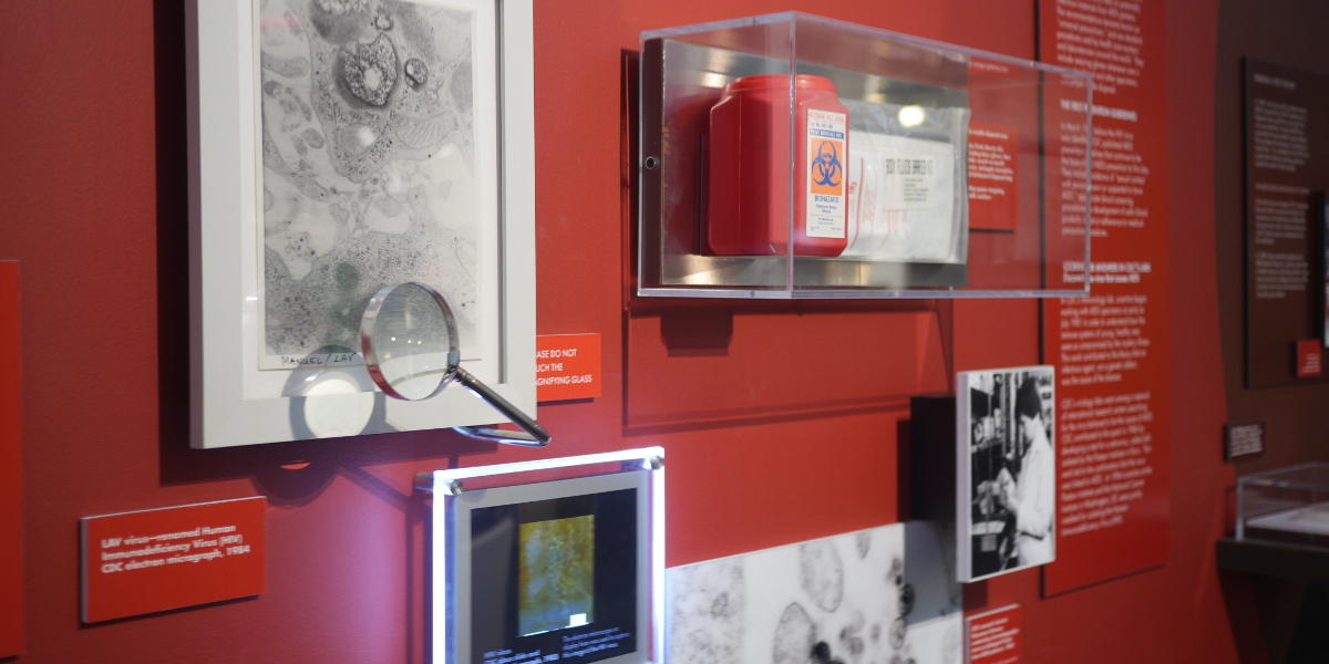At the CDC museum, guests can learn about the history of the study, prevention and cure of infectious diseases and the technology that helped scientists through the ages.