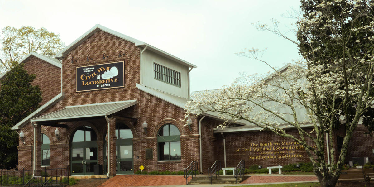 "The Southern Museum in Kennesaw offers guests a trip into Civil War and locomotive history. At the front of the museum sits ""The General,"" the train made famous in the 1862 Andrews Raid."
