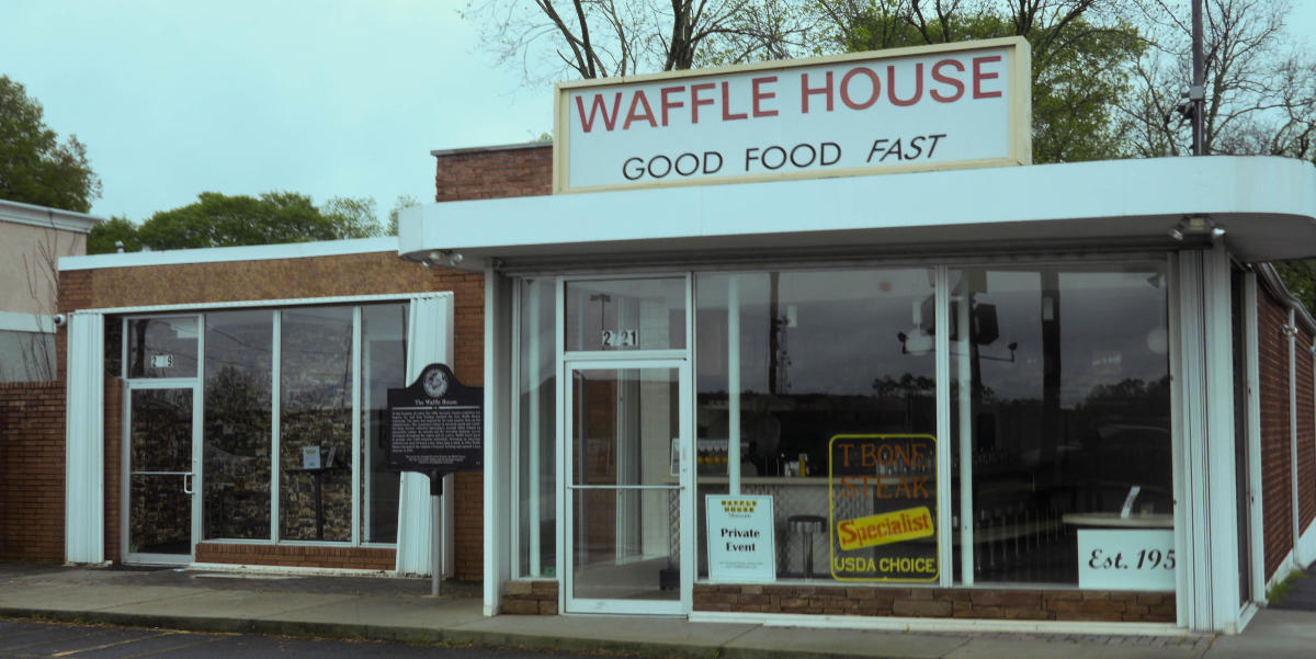 The first Waffle House restaurant is now the Waffle House Museum.