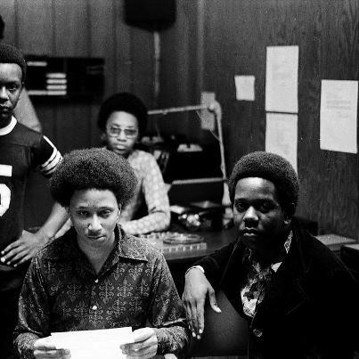 Wayne Williams at 16 in the radio studio he'd built in his father's basement. Williams would later be convicted for the Atlanta child murders.