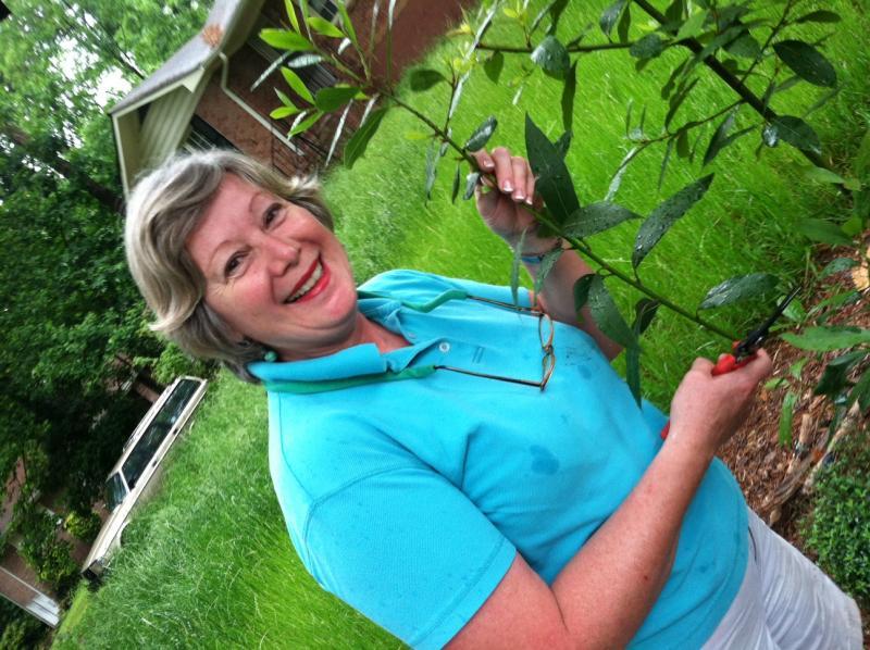 Horticulturist Geri Laufer