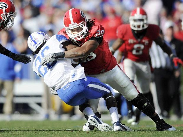 Jarvis Jones leads the UGA defense.