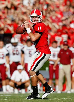 Aaron Murray is the Georgia Bulldogs quarterback.