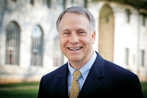 Emory University President Dr. James Wagner