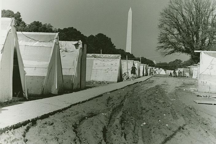 Resurrection City, Washington, DC, 1968