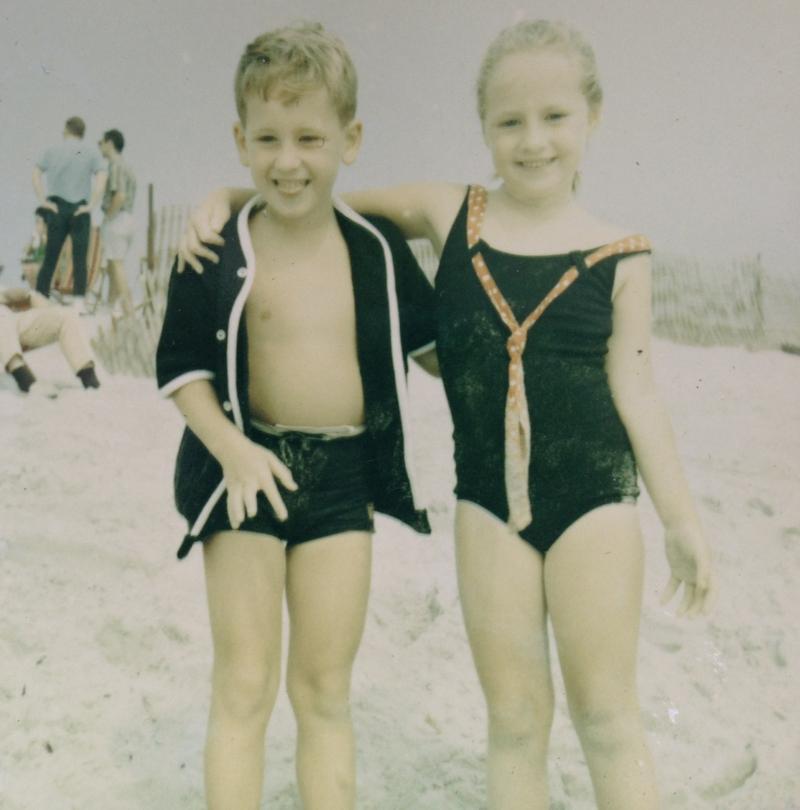 Bob & Beth Zemsky as children