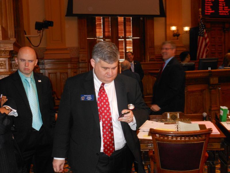 David Shafer (R-Duluth), Senate president pro tem