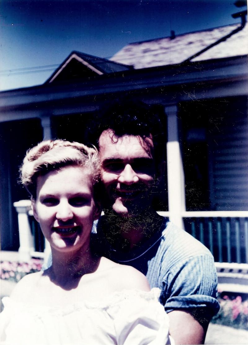 Bill and Helen Kuen, decades ago