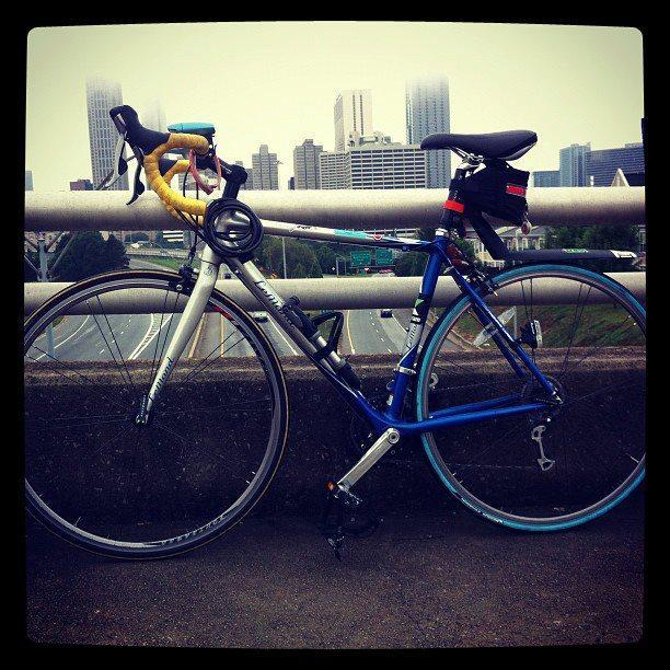 Listener John Tackett loves his bike.