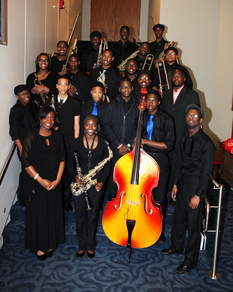 Stephenson High School's jazz band is one of the winners of the Youth Band Competition slated to perform at this year's event.