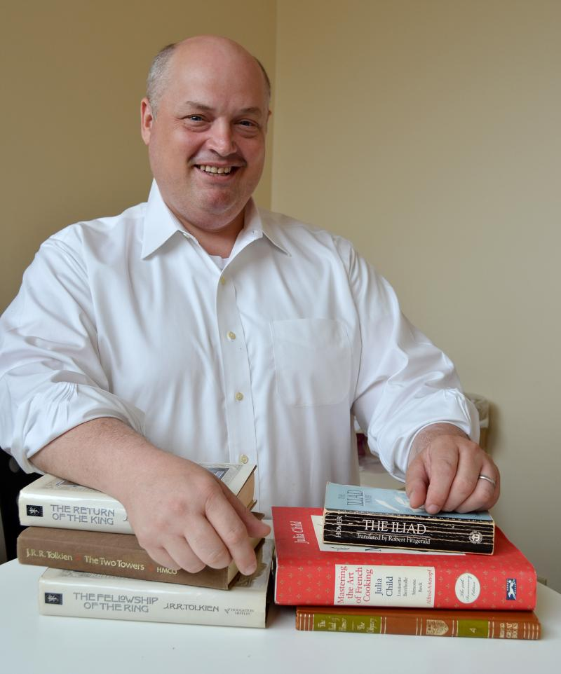 Chef Linton Hopkins picks three favorite books for WABE.