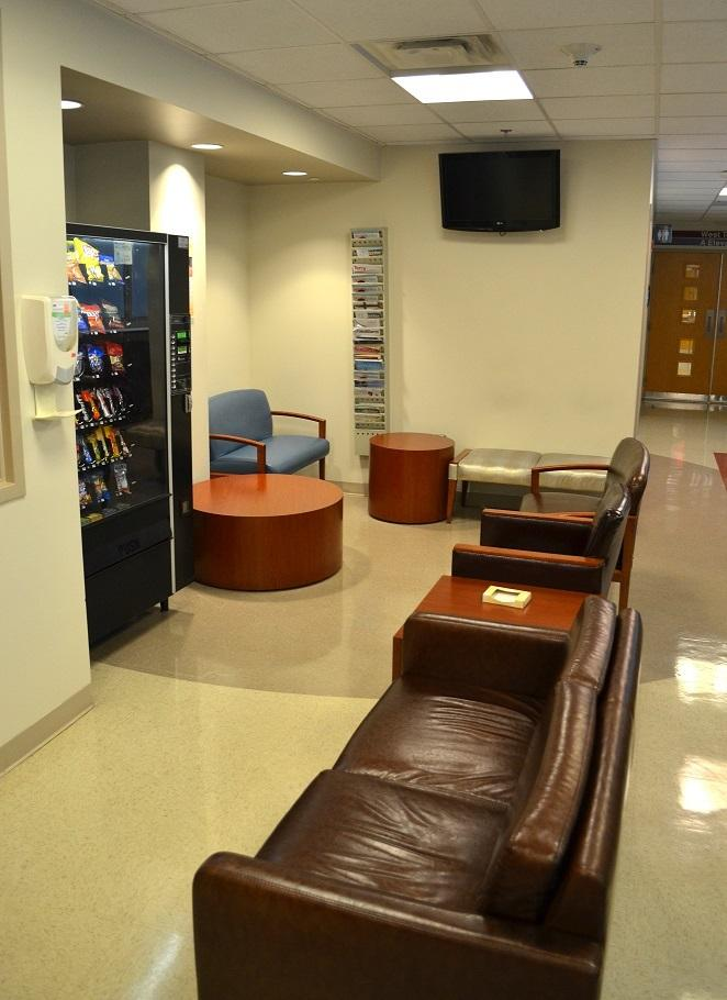 Marcus Stroke & Neuroscience Center intensive care unit's West Tower family lounge