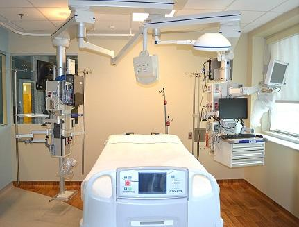 Intensive care unit in Grady Hospital's Marcus Stroke & Neuroscience Center