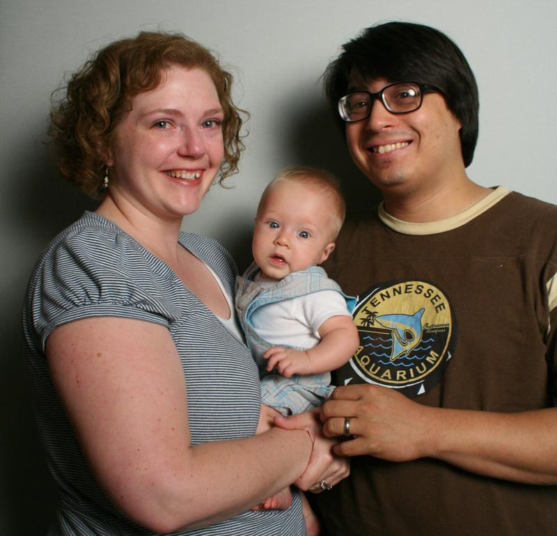 Melissa, Alexander and Myke Johns at StoryCorps Atlanta