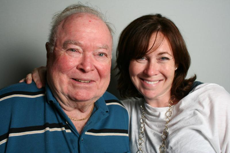 Allan Ripans and Holly Witten at StoryCorps Atlanta