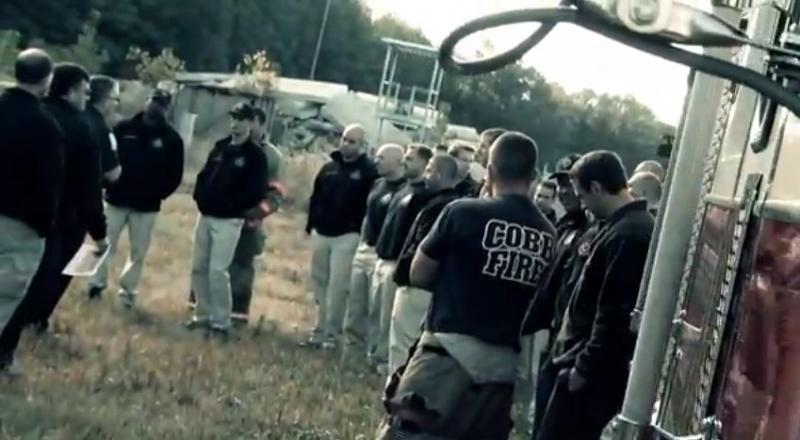 Cobb County firefighters receive 30 weeks of training before they can join the force.