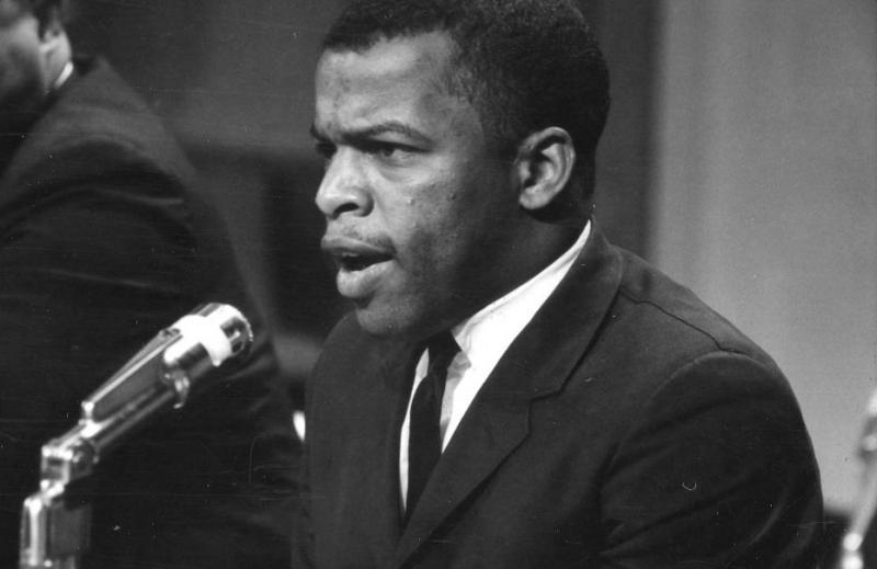 Congressman John Lewis in 1964
