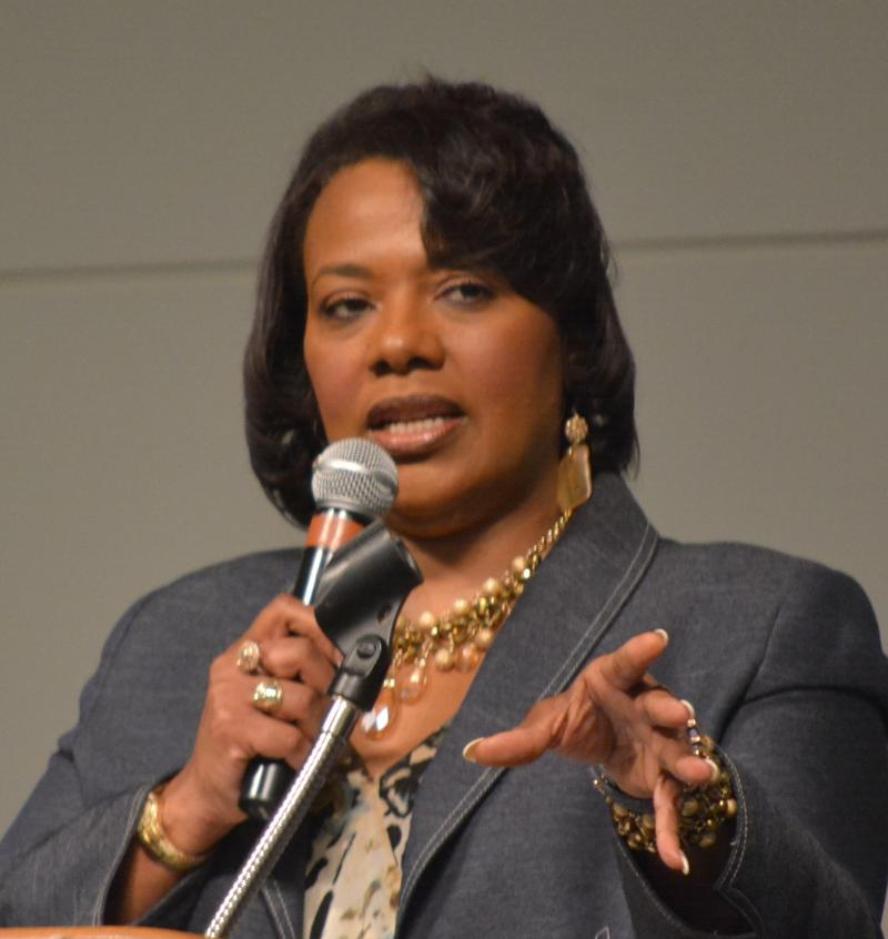Bernice King today.