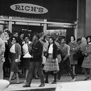 The Atlanta Student Movement boycotted downtown businesses to protest segregation.
