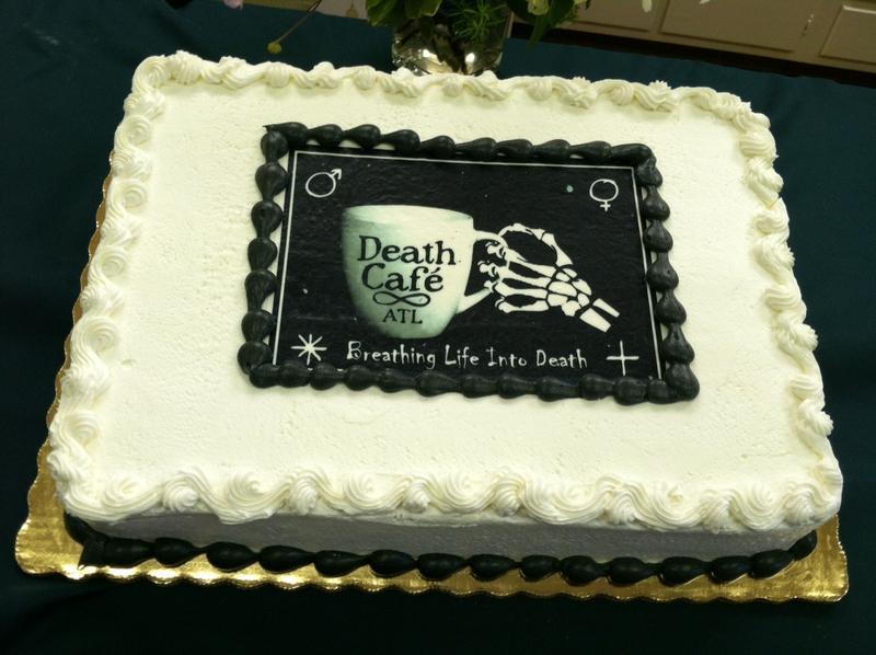 cake at Death Cafe Atlanta