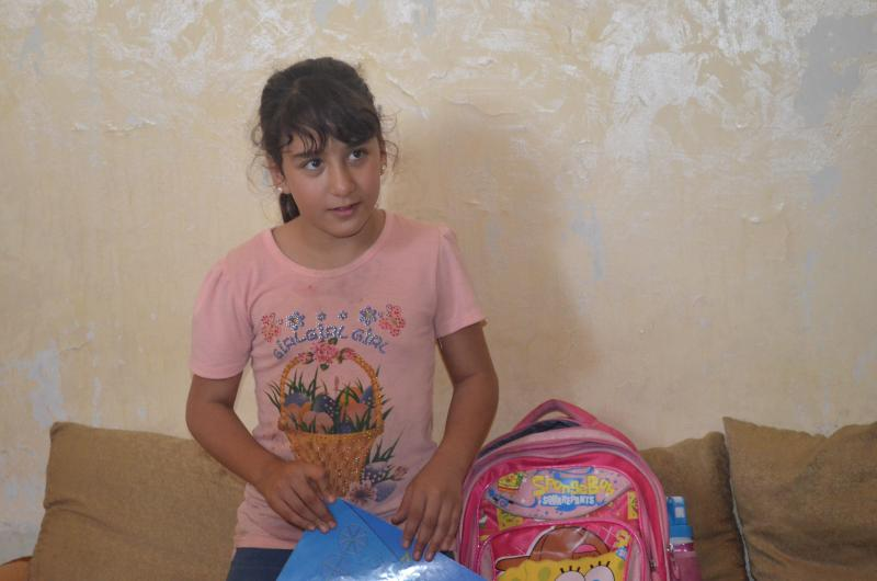 Nour says she's made friends at the school. Often, it's difficult to get Syrian children enrolled nearby to where they live because of overcrowding.