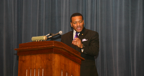 Dr. Francys Johnson, new president of the NAACP Georgia Chapter
