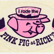 A Pink Pig sticker