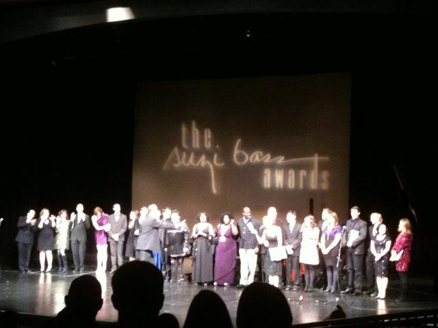 Atlanta theater onstage at the Suzi Bass Awards