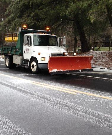 Dunwoody tweeted this picture of its road crews at work this morning.