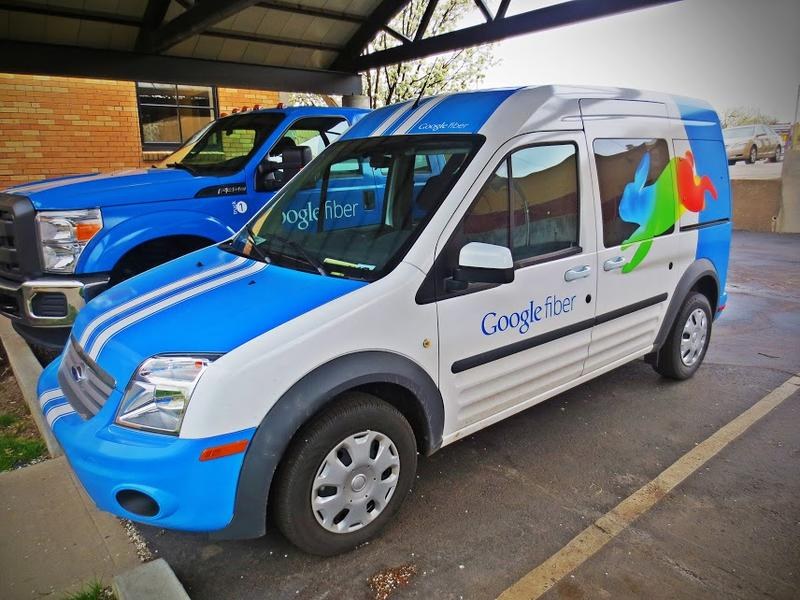 These Google Fiber installation vans may be coming to one of nine cities in the Atlanta area, but no decision will be made until the end of the year.