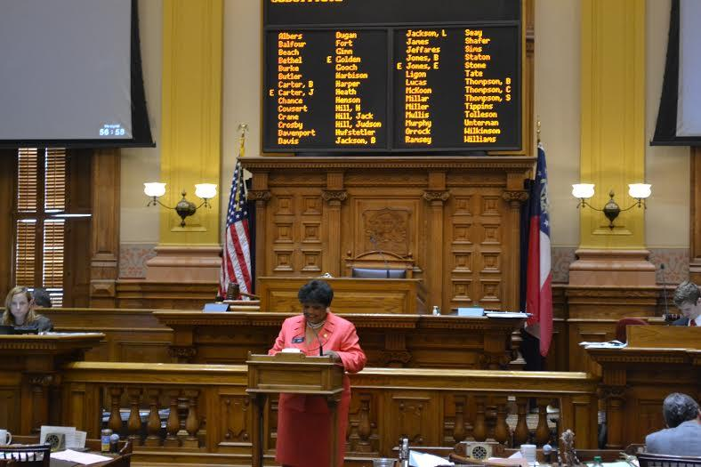 Sen. Gail Davenport says she believes race is the reason for opposition against districting some Clayton County cities.