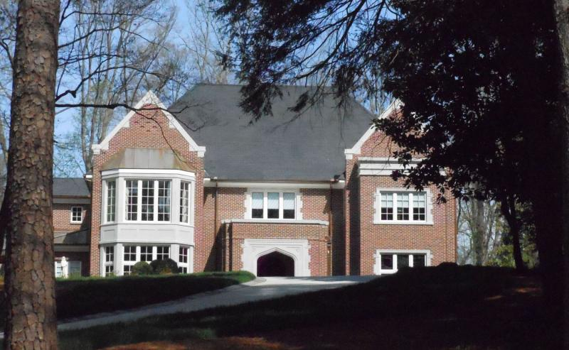 Archbishop Gregory's new Buckhead residence, which is at the center of the controversy.