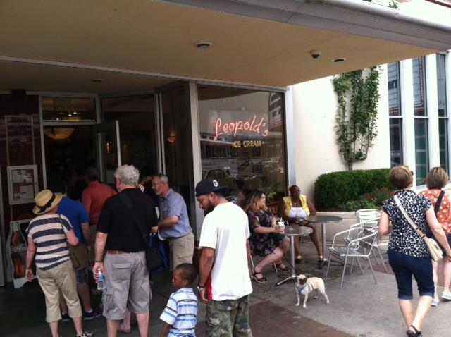 Leopold's Ice Cream has been serving customers since 1919.