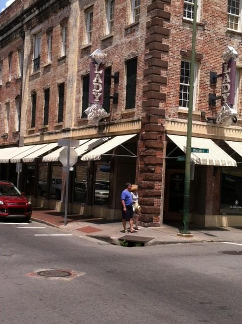 Paula Deen's restaurant, The Lady and Sons, is a popular place for tourists to eat.