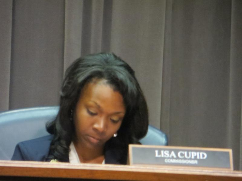Lisa Cupid says she hopes this meeting will address concerns within her district.