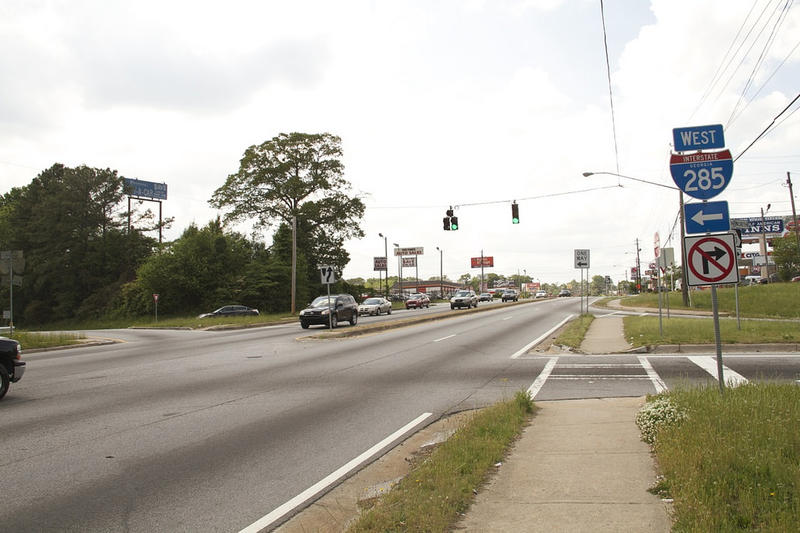 The intersection of Flat Shoals Road and I-285 is one of GDOT's projects that may be stalled due to lack of funding.