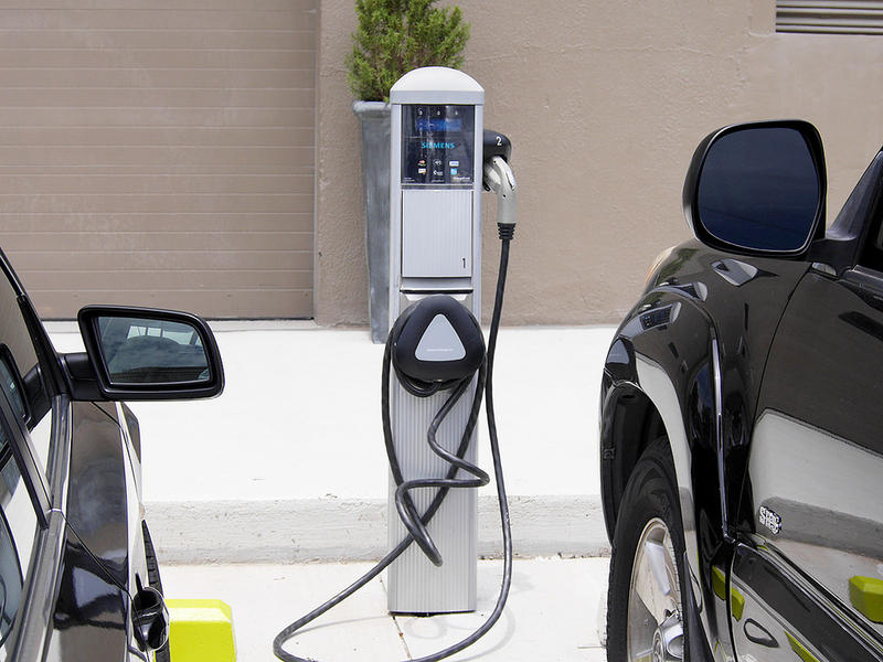 Electric Car Charging Station, Atlanta