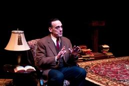 "Tom Key in ""C.S. Lewis On Stage"" at Theatrical Outfit"