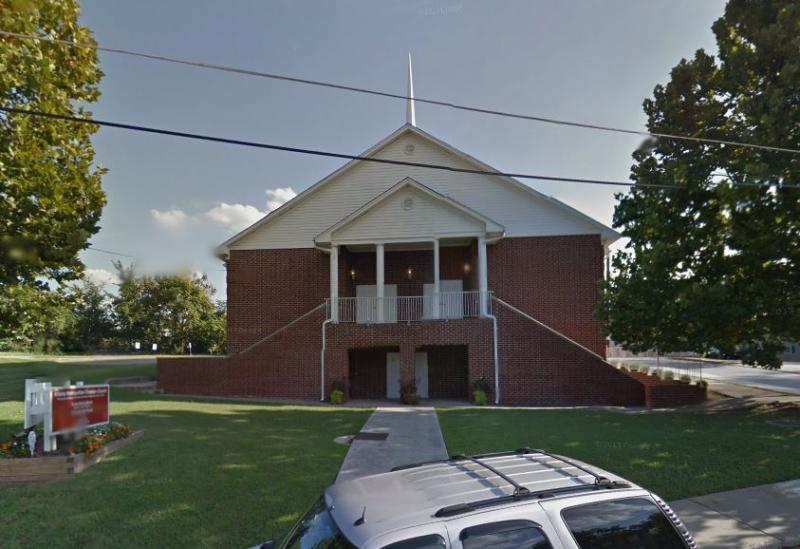 Dad's Garage Theatre may be moving to this church on Ezzard Street in the Old Fourth Ward.