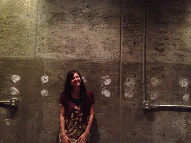Synchronicity Artistic Director Rachel May in the theatre's new home.