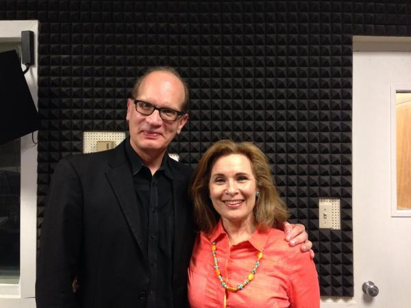 Walter Huff and Lois Reitzes in WABE's Studio 4