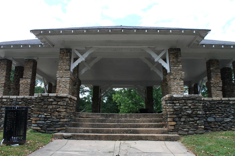 The Maddox Park pavilion