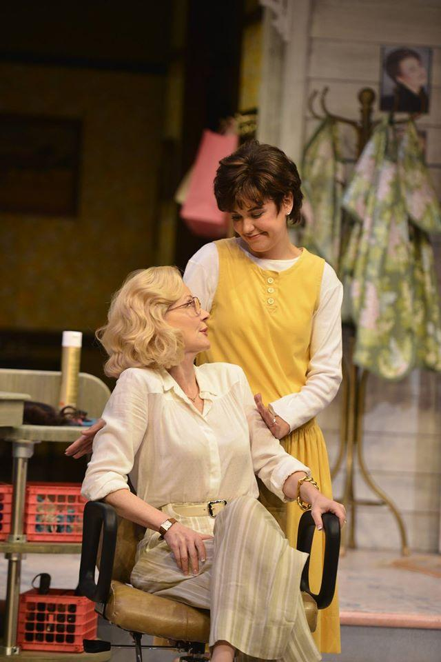 Photo of Beth Broderick (from left) and Zoë Winters in the Alliance Theatre's 2014/15 production of Steel Magnolias.