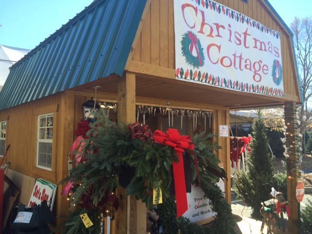 Christmas Cottage Big John's Christmas Trees
