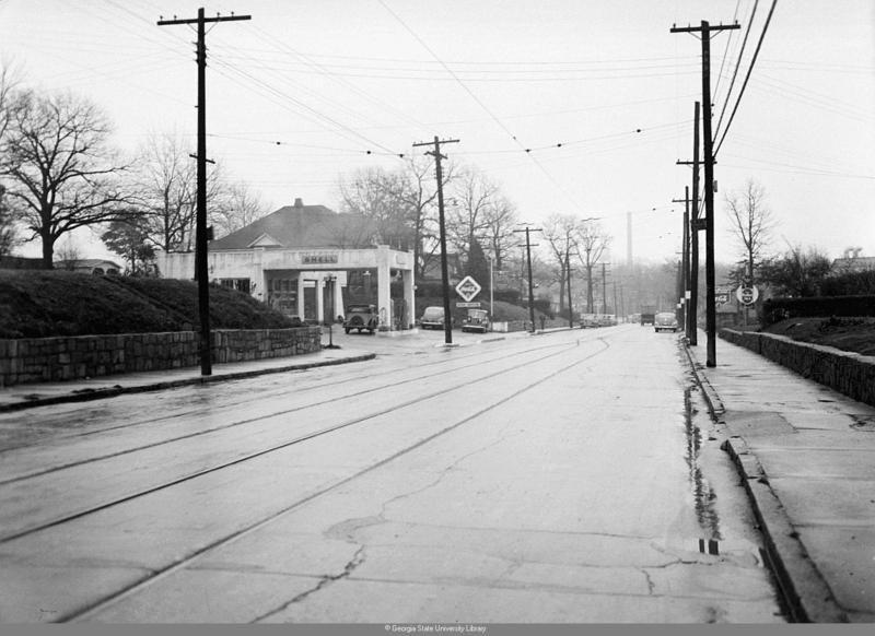 McDonough Boulevard in front of the Lakewood Assembly Plant
