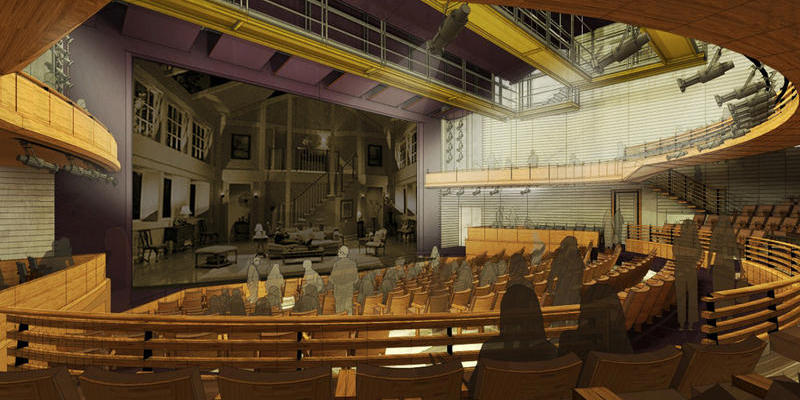 A major overhaul of the Alliance Theatre's mainstage means a touring season for the city's premiere theater company.